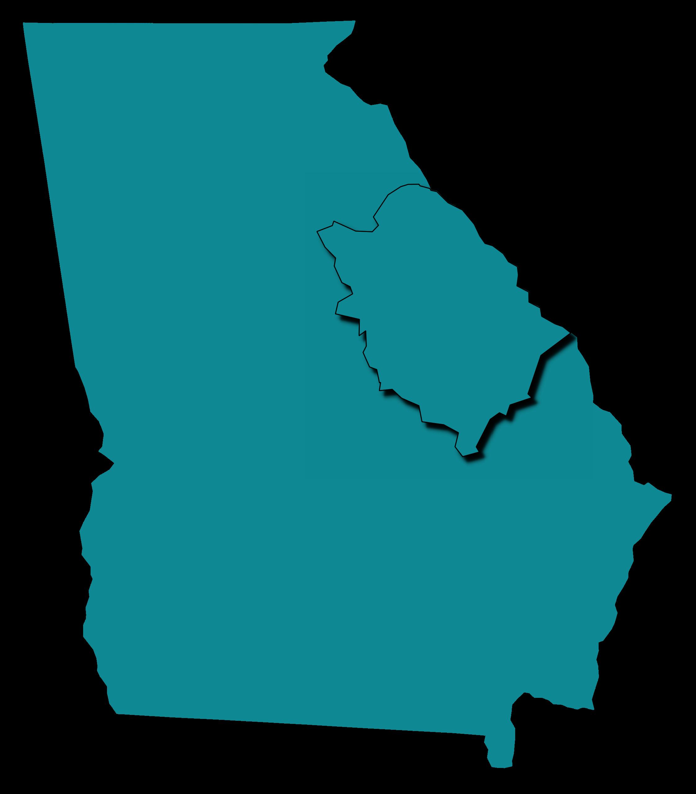 Map Of East Georgia.East Georgia Georgia Historic Newspapers